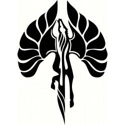 Fiero Pegasus Solid Hood...