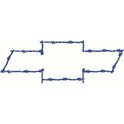 Barbed Wire Bowtie