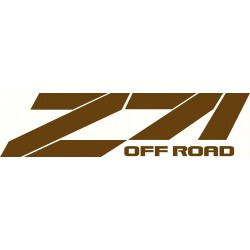 Z71 Decal Set