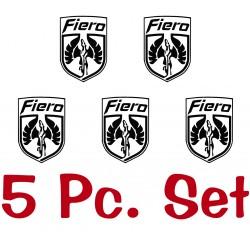 Fiero Wheel Cap Logos (Non GT)
