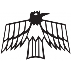 Old School Firebird Logo Style