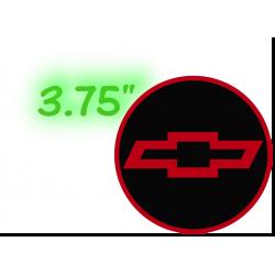 """Chevy Wheel Caps 3.75""""..."""
